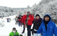 National Park with Winter Mini Trekking